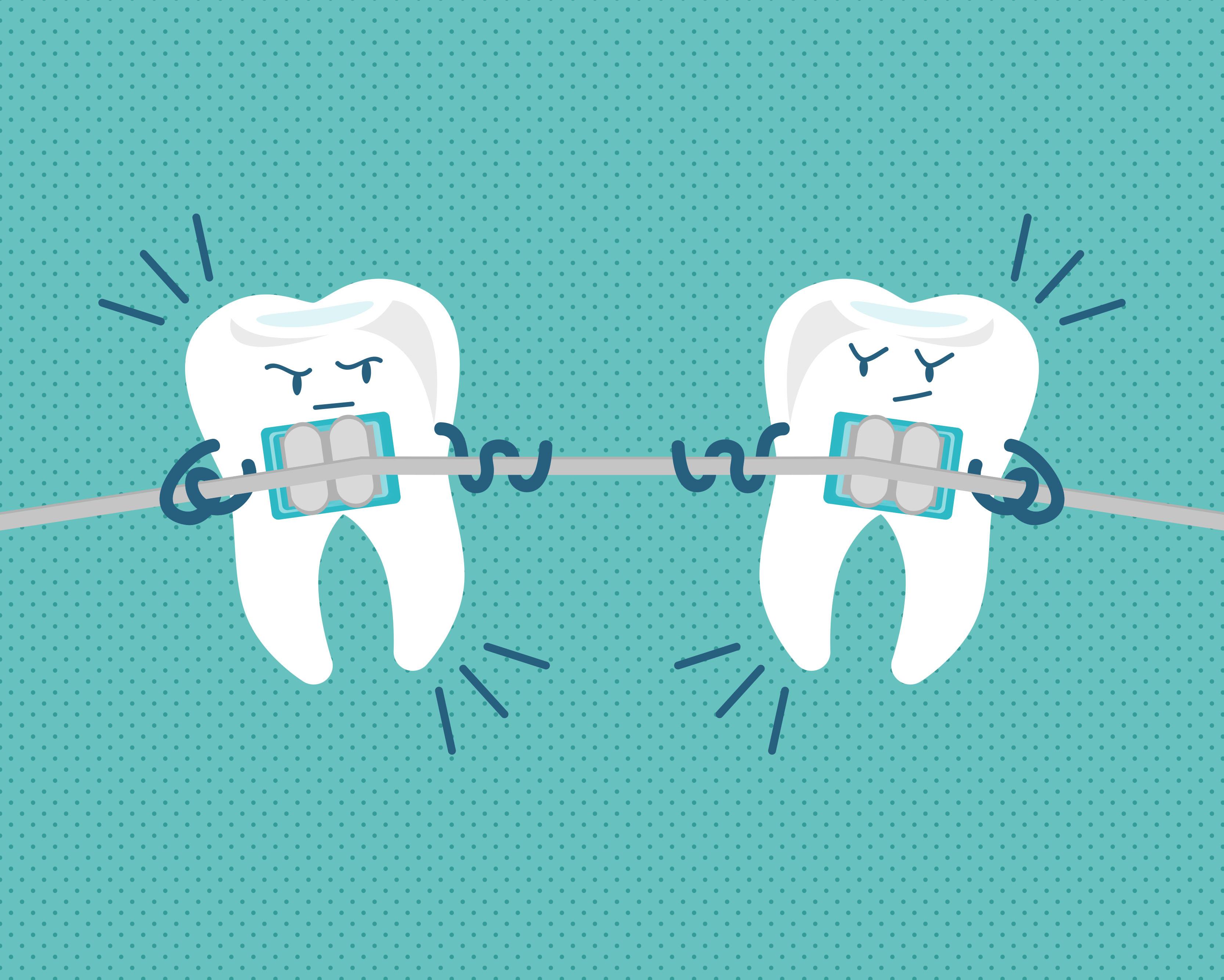 لق شدن دندان در ارتودنسی
